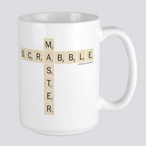 Scrabble Master 15 oz Ceramic Large Mug