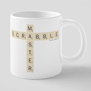 Scrabble Master 20 oz Ceramic Mega Mug