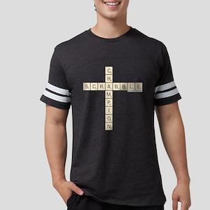 Scrabble Champion Mens Football Shirt