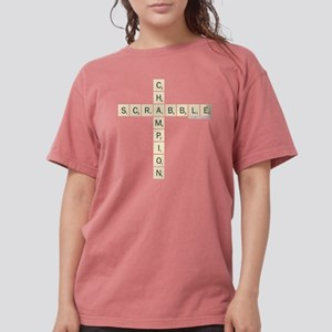 Scrabble Champion Womens Comfort Colors Shirt