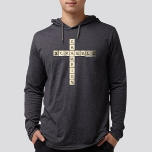 Scrabble Champion Mens Hooded Shirt