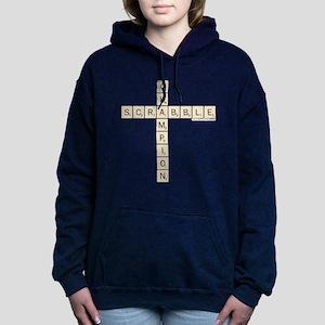 Scrabble Champion Women's Hooded Sweatshirt