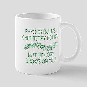Biology Grows On You Mug
