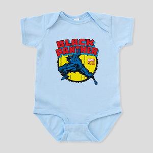 Black Panther Comic Baby Light Bodysuit