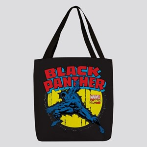 Black Panther Comic Polyester Tote Bag