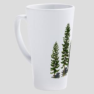 EMERALD FOREST 17 oz Latte Mug
