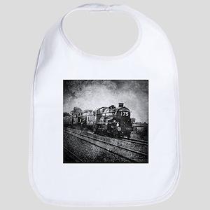 steampunk transportation steam train Baby Bib