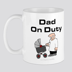 Dad On Duty Mug