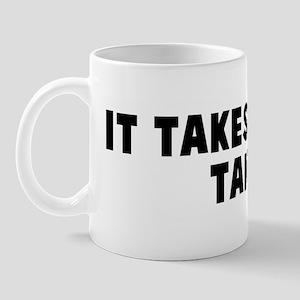 It takes two to tango Mug