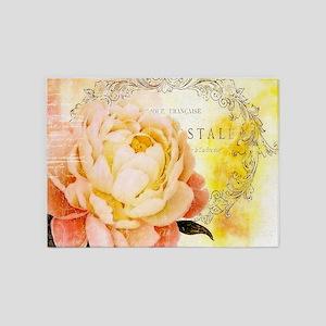 Vintage rose 5'x7'Area Rug