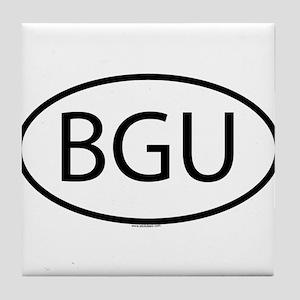 BGU Tile Coaster