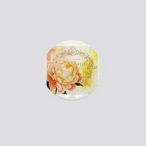 Vintage rose Mini Button