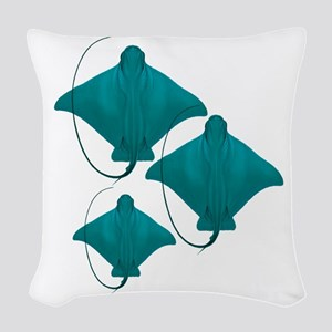 BY THREE Woven Throw Pillow