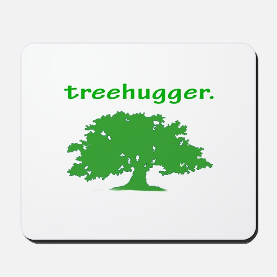 Tree hugger Mousepad