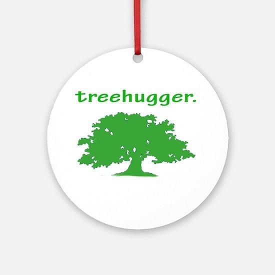 Tree hugger Ornament (Round)