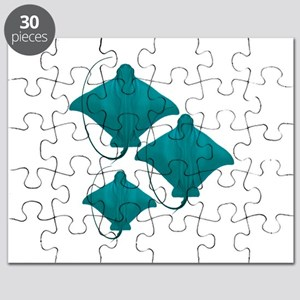 BY THREE Puzzle