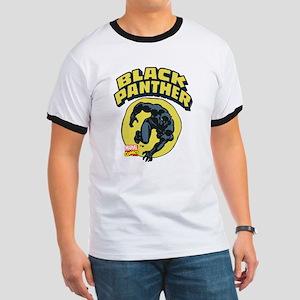 Black Panther Comic Logo Ringer T