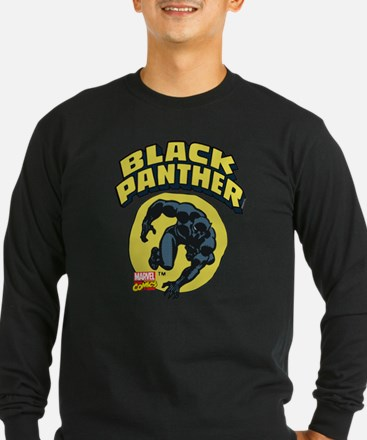 Black Panther Comic Logo T