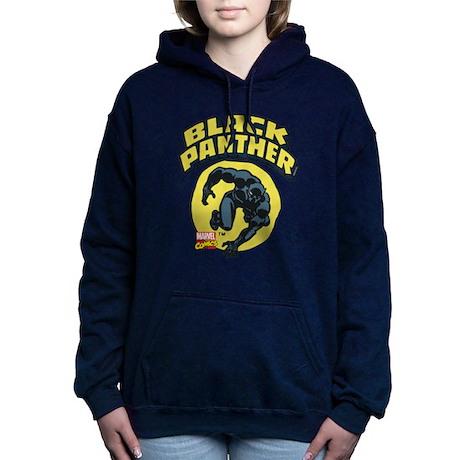 con Panther Felpa di il per cappuccio Panther Logo Black 205137115 pullover dOqxOCw