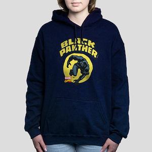 Black Panther Comic Logo Women's Hooded Sweatshirt