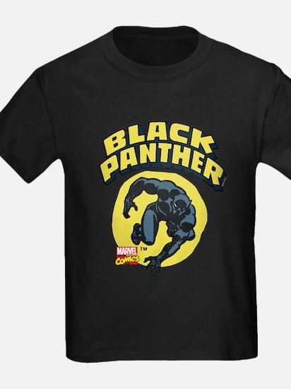 Black Panther Comic Logo T