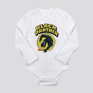 Black Panther Comic Lo Long Sleeve Infant Bodysuit