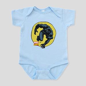 Black Panther Crawl Baby Light Bodysuit
