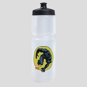Black Panther Crawl Sports Bottle