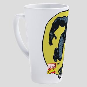 Black Panther Crawl 17 oz Latte Mug