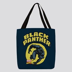 Black Panther Comic Logo Polyester Tote Bag