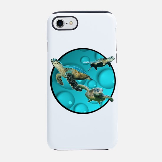 Cute Baby sea turtles iPhone 8/7 Tough Case