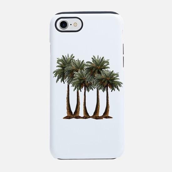 Cute Beach house iPhone 8/7 Tough Case