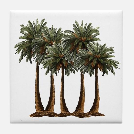 Cool Oasis Tile Coaster
