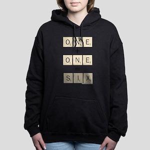 Scrabble One Plus One Si Women's Hooded Sweatshirt