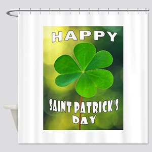 ST' PATRICK'S DAY Shower Curtain