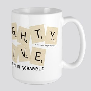 Scrabble Eighty Five Only 15 oz Ceramic Large Mug