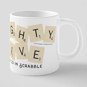 Scrabble Eighty Five Only 2 20 oz Ceramic Mega Mug