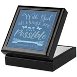 With God Keepsake Box