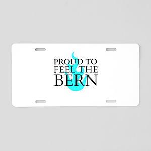 Proud to . . . Aluminum License Plate