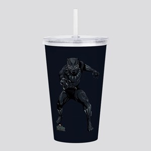 Black Panther Stance Acrylic Double-wall Tumbler