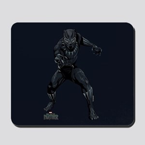 Black Panther Stance Mousepad