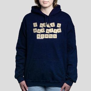 Scrabble Way With Words Women's Hooded Sweatshirt