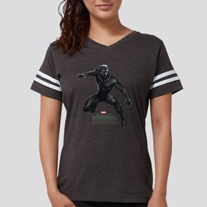 Black Panther Pose Womens Football Shirt