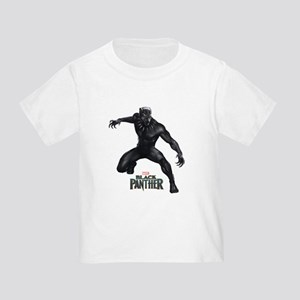 Black Panther Pose Toddler T-Shirt