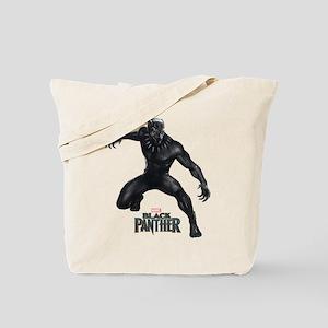 Black Panther Pose Tote Bag