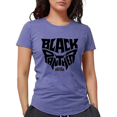 Black Panther Logo Womens Tri-blend T-Shirt