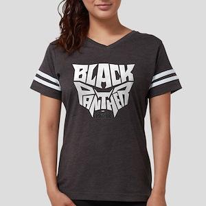 Black Panther Logo Womens Football Shirt