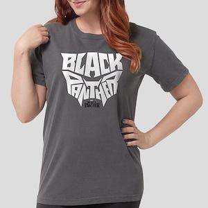 Black Panther Logo Womens Comfort Colors Shirt