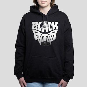 Black Panther Logo Women's Hooded Sweatshirt