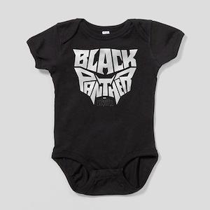 Black Panther Logo Baby Bodysuit
